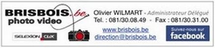 Logo : BRISBOIS PHOTO-VIDEO